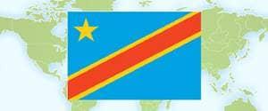 Flag of Congo, Democratic Republic of the