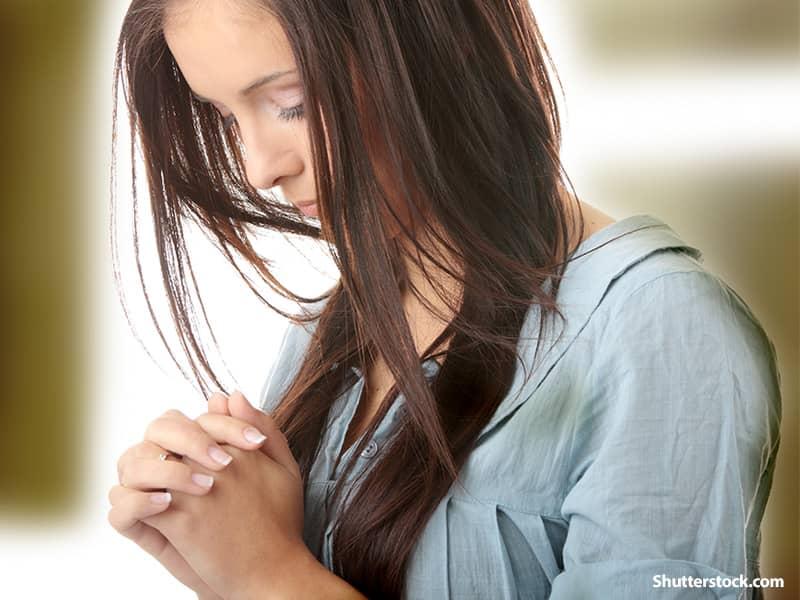 Religious Woman Praying